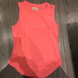 Chaser Tank, Pink/Coral, Small,